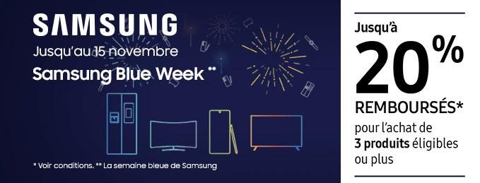 TV QLED, vidéoprojecteurs et barres de son Samsung : Jusqu'à 20 % remboursés