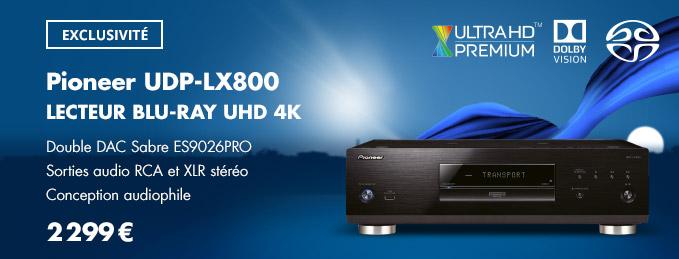 Pioneer UDP-LX800 : Le lecteur Blu-ray UHD-4K ultime