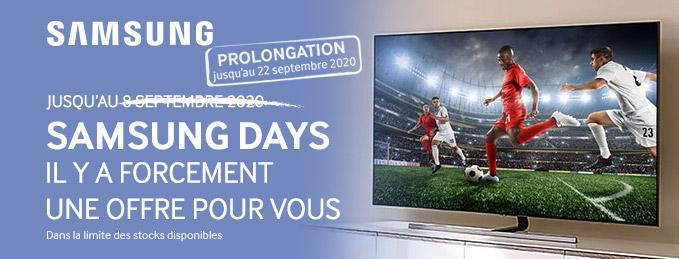 Samsung Days : Il y a forcément une offre pour vous