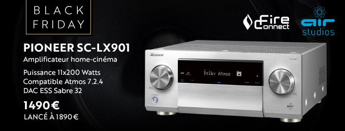 Pioneer SC-LX901 : Des performances home-cinéma exceptionnelles