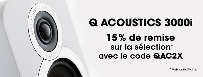 Q Acoustics 3000i : Promotion -15%