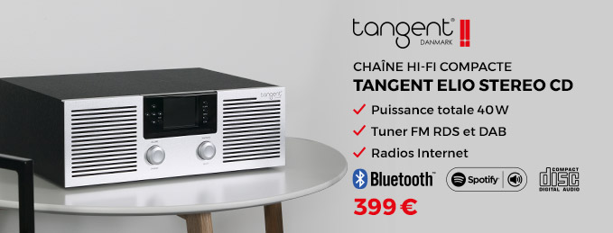 Tangent Elio Stereo CD : Chaîne compacte CD et radios Internet