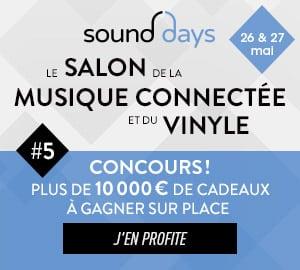 Sound Days #5 : les 26 et 27 mai 2018 !