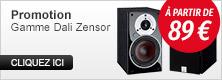 Enceintes Dali Zensor
