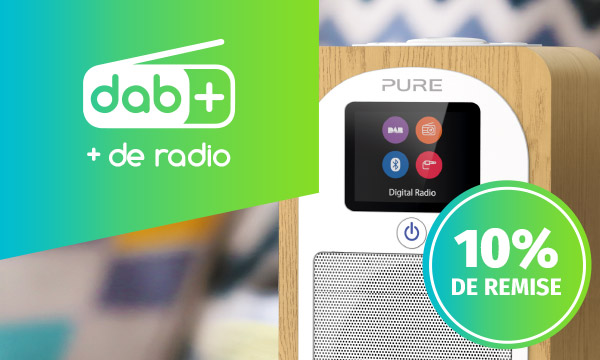 Offre spéciale radios DAB+