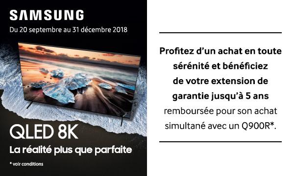 Samsung vous rembourse l'extension de garantie