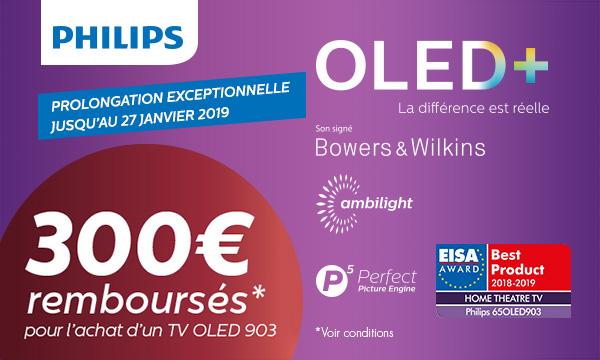 Philips vous rembourse jusqu'à 300€