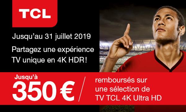 TCL vous rembourse jusqu'à 350 euros