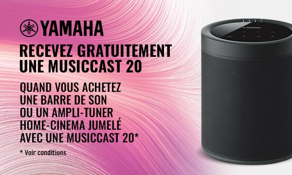 Voir les conditions de l'offre Yamaha MusicCast 20