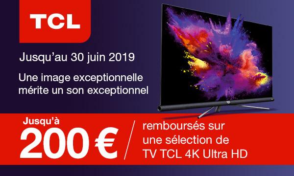 TCL vous rembourse jusqu'à 400 euros