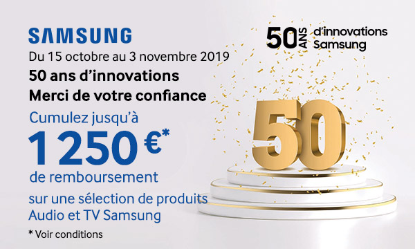 Samsung - 50 ans d'innovations
