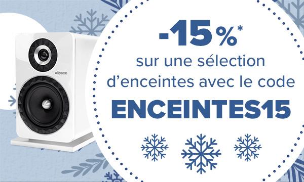 promotion enceintes -15%
