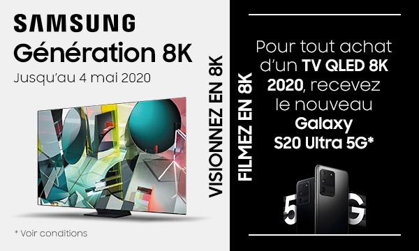 Offre Samsung Génération 8K