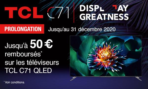 Sélection TV QLED TCL C71