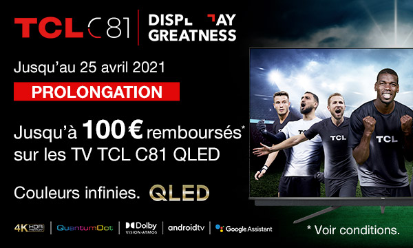 Sélection TV TCL C81
