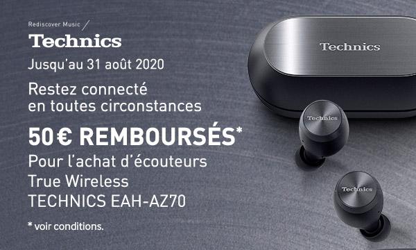 Technics EAH-AZ70 : 50€ remboursés