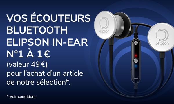 Vos écouteurs Elipson In-Ear N°1 à 1 €
