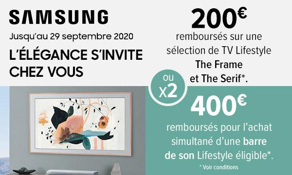 Sélection Samsung TV lifestyle