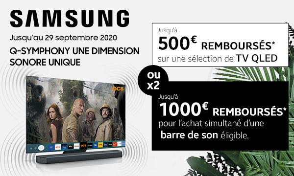 Samsung Q-Symphony : une dimension unique