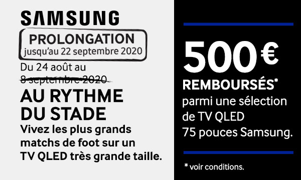 Sélection Samsung : Au rythme du stade