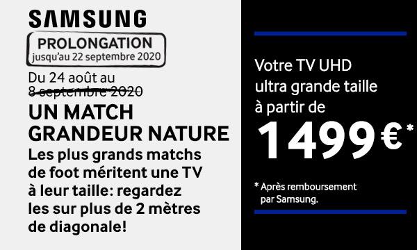 Sélection Samsung : Un Match grandeur nature