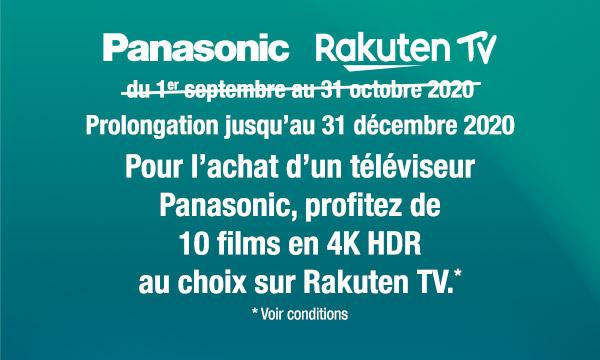 Sélection TV Panasonic