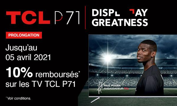 Sélection TV TCL