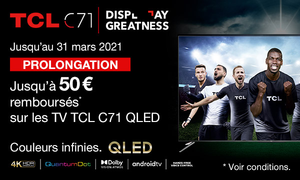 Sélection TV TCL C71