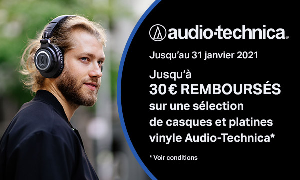 Audio-Technica : casques et platines vinyle
