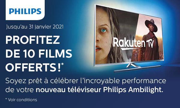 Sélection TV Philips Ambilight