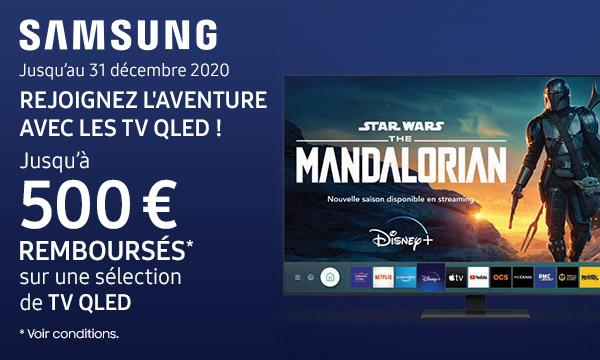 Sélection TV QLED Samsung