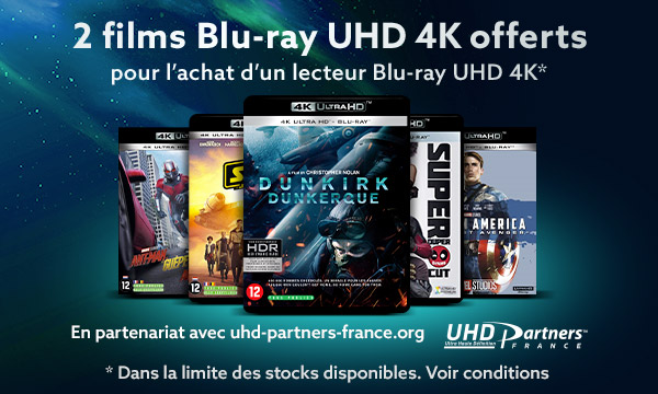Recevez un film Blu-ray UHD 4K