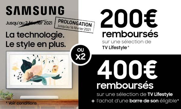 Sélection Samsung : la technologie, le style en plus