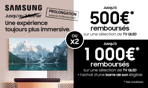 Sélection Samsung : une expérience toujours plus immersive