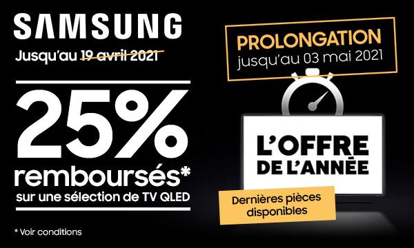 Samsung : l'offre de l'année