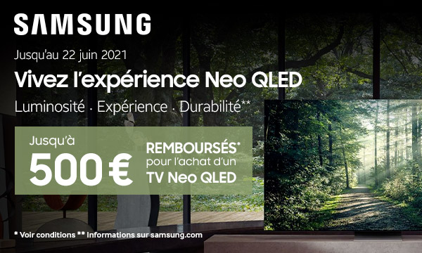Samsung : vivez l'expérience Neo QLED