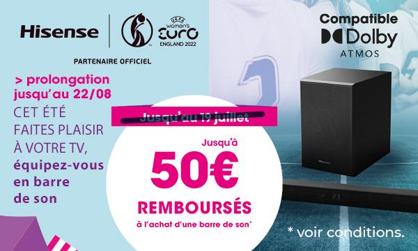 Hisense Laser TV : jusqu'à 1000€ remboursés