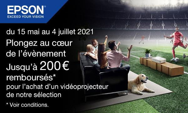 Epson : jusqu'à 200 € remboursés