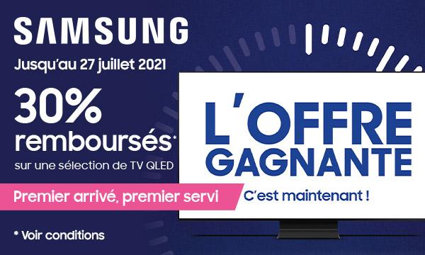 Samsung : l'offre gagnante