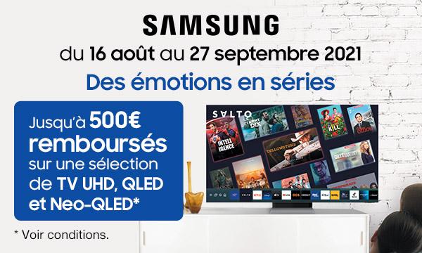 Samsung : des émotions en séries