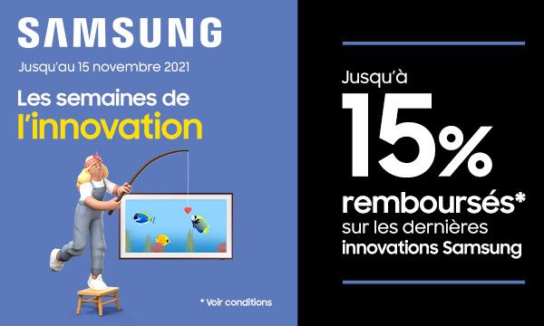 Sélection Samsung : les semaines de l'innovation