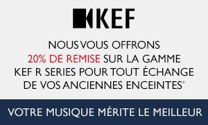 KEF - R Series - 20% de remise