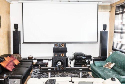 L'installation home cinema de Gilles L.