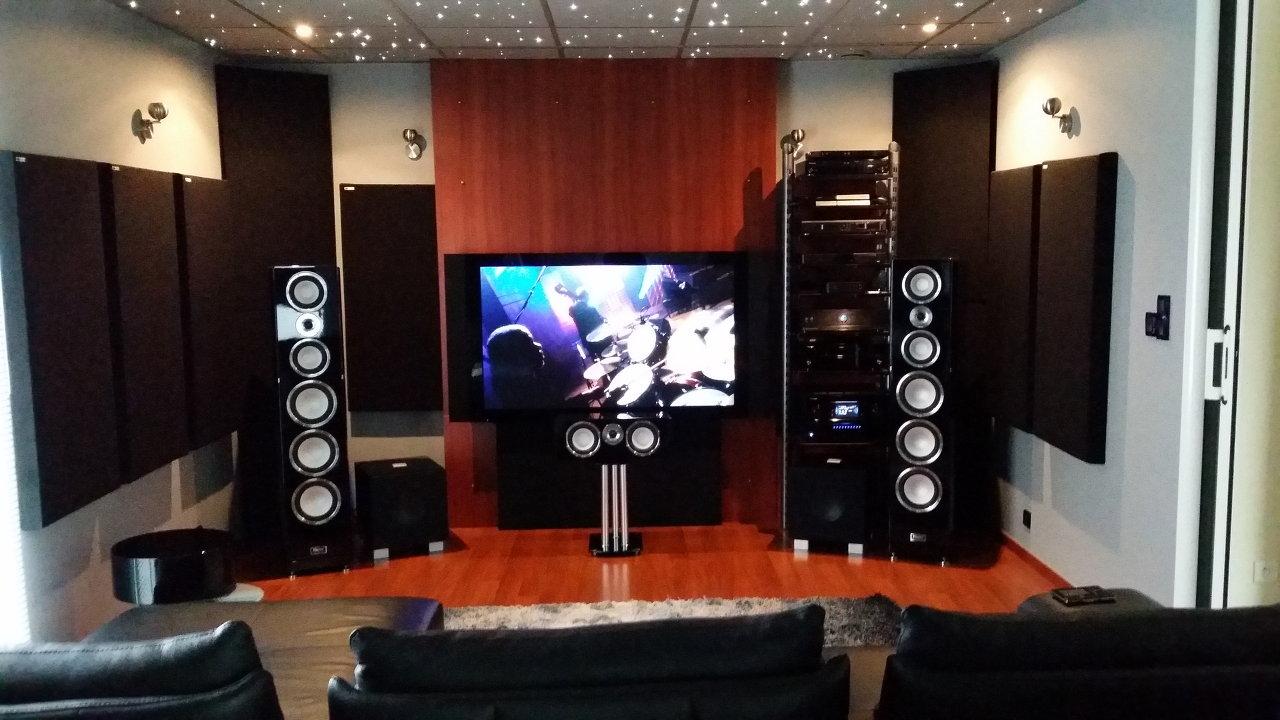l installation home cinema de sylvain b. Black Bedroom Furniture Sets. Home Design Ideas