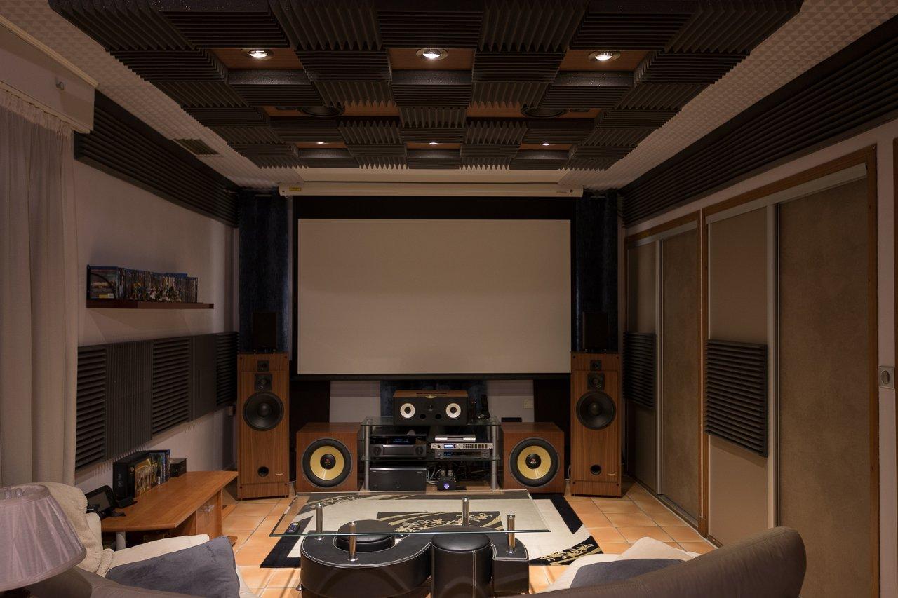 l installation home cinema de jonathan p. Black Bedroom Furniture Sets. Home Design Ideas