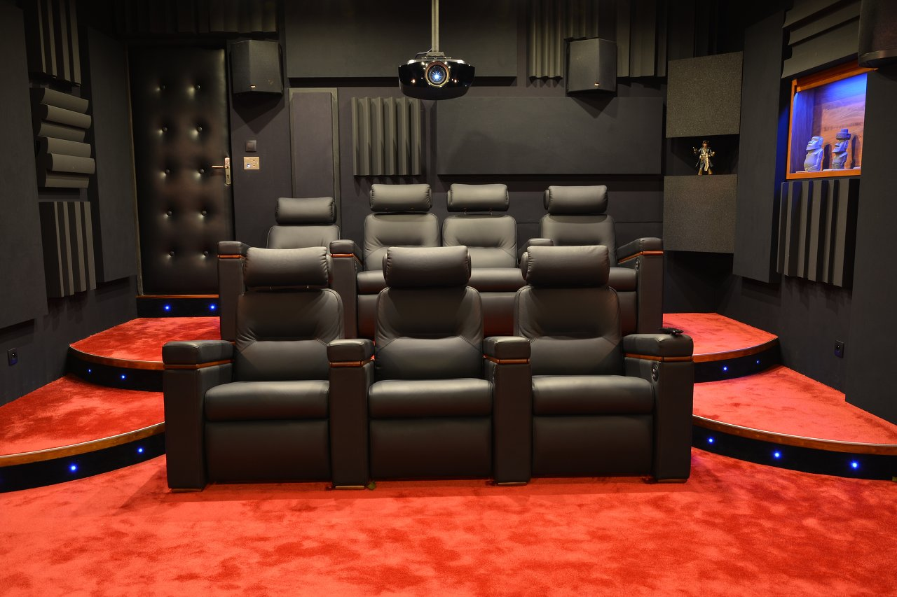 l installation home cinema de martial c. Black Bedroom Furniture Sets. Home Design Ideas