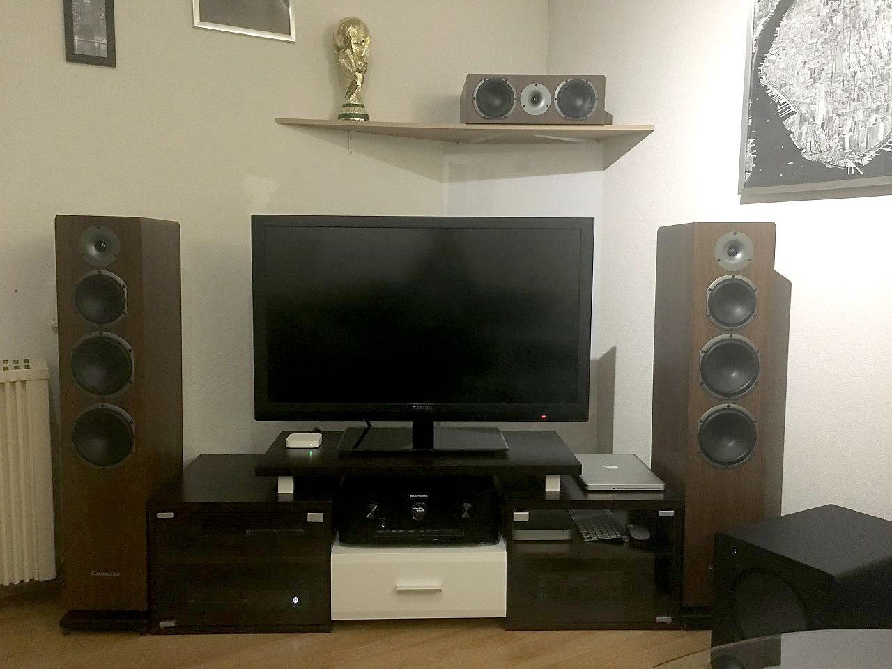 l installation home cinema de brice p. Black Bedroom Furniture Sets. Home Design Ideas