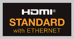 HDMI Standard With Ethernet