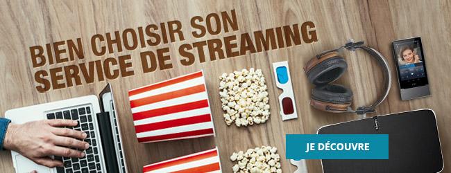 Comment bien choisir son service de streaming audio et VOD ?
